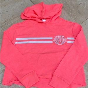Justice girls hoodie